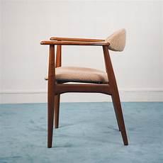 schreibtischstuhl vintage skandinavischer vintage schreibtischstuhl aus holz 1960er