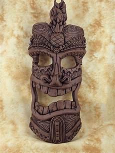 Tiki Mask By Sherman Oberson Papcg Members Polymer Clay