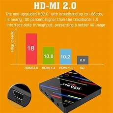 Rk3328 64gb Android Bluetooth by H96 Max Rk3318 Rk3328 Tv Box 4 64gb Wifi Bluetooth Android