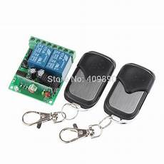 315mhz Wireless Remote Switch Transmitter by 12v 315mhz 2 Ch Wireless Remote Switch With 2 Remote