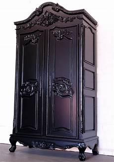 schrank schwarz landhaus schrank shabby schlafzimmer schrank schwarz ebay