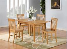 5 pc norfolk 32x54quot rectangular dinette table 4 kitchen tables and chairs sets