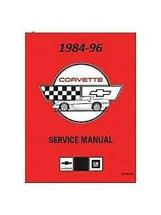 download car manuals pdf free 1984 chevrolet corvette free book repair manuals service repair manuals for chevrolet corvette for sale ebay