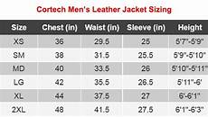 Xl Jacket Size Chart Ships Same Day Cortech Adrenaline Black Leather Jacket