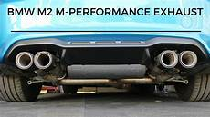bmw m2 m performance exhaust bmw m2 m performance exhaust detail review is it worth the money youtube
