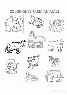 animals worksheets exercises 13776 farm animals esl worksheets for distance learning and physical classrooms