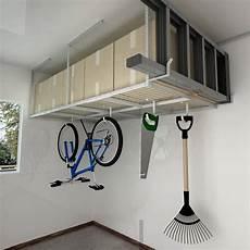 mensole per garage sg38w scaffale da soffitto per carichi fino a 250 kg