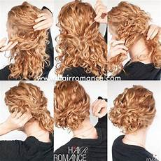 love this easy curly updo for second day hair find the full how to my blog but essentially