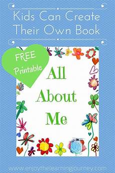 all about me book with free printable all about me book all about me preschool all about me