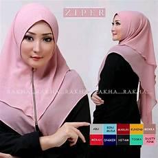 Jual Jilbab Instan Ziper Di Lapak Suzei Shope Susidaniati