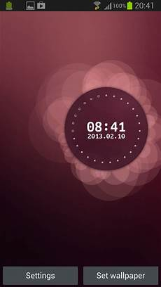 time as live wallpaper ubuntu ubuntu live wallpaper app apk to experience
