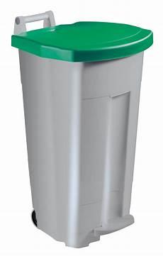 tri selectif poubelle poubelle tri selectif cuisine 90 l couvercle vert