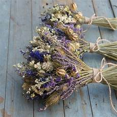 Wedding Dried Flowers provence dried flower wedding bouquet by the artisan dried