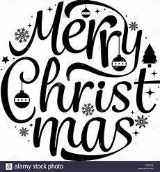 merry christmas text free design isolated white background vector illustration stock