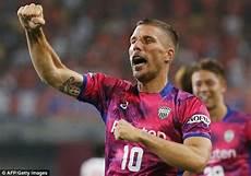 Lukas Podolski Japan - lukas podolski scores on j league debut daily mail