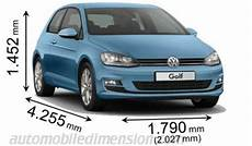 Dimensioni Volkswagen Golf 2012 Bagagliaio E Interni