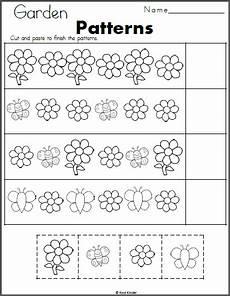 cut and paste patterns worksheets for kindergarten 309 pin on kindergarten