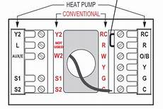 lennox ahu heat pump honeywell t stat wiring doityourself com community