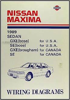 1989 nissan pathfinder wiring diagram 1989 nissan maxima wiring diagram manual original