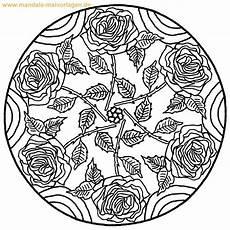 Malvorlage Blumen Mandala Malvorlage Ausmalbild Ausmalen Malvorlagen Blumen