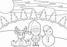 Malvorlagen Weihnachten Kostenlos Tipps Kostenlose Malvorlage Weihnachten Weihnachtslandschaft