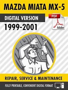 free auto repair manuals 2001 mazda miata mx 5 electronic throttle control 1999 2001 mazda miata mx 5 factory repair service manual s manuals