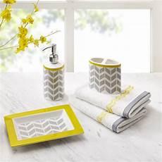 Grey Bathroom Accessories Ideas by Best 25 Yellow Bathroom Accessories Ideas On