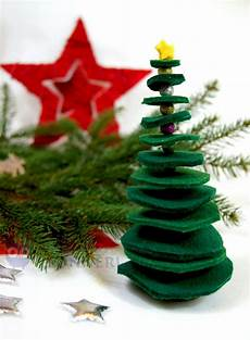anleitung dekorativer tannenbaum aus filz leonneri
