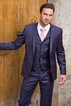 Costume Bleu Cravate Costume Mariage Costume