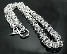 collier argent grosse maille 26 collier grosse maille argent 925 de kittypassionandco
