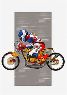 Gambar Animasi Kartun Motor Road Race Rosaemente