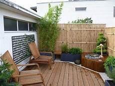 Balkon Sichtschutz Ideen - bambus sichtschutzzaun f 252 r den balkon im feng shui stil
