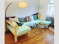 Ana White   Crib Mattress Wood Sectional   DIY Projects