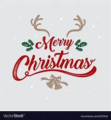merry christmas logo image merry christmas happy new year logo symbol vector image