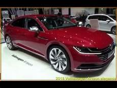 Volkswagen Arteon 2018 2018 Volkswagen Arteon Elegance