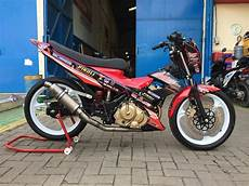 Satria Fu Modif Road Race by Modifikasi Satria Fu Road Race Terbaru