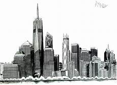 Malvorlagen New York Skyline Einzigartig Dessin Facile New York Skyline New York