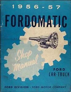 auto manual repair 1955 ford thunderbird transmission control 1953 1957 ford body parts catalog reprint car thunderbird truck