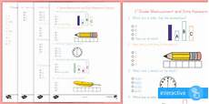 measurement and data worksheets for 1st grade 1415 grade measurement and data assessment practice worksheet common