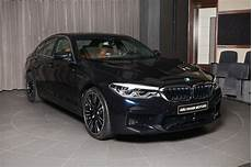 azurite black 2018 bmw m5 shows off in abu dhabi autoevolution