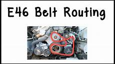 Bmw E46 Engine Drive Belt Diagram how to route bmw e46 drive belts
