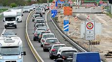 Autobahn Soviel Stress Verursachen Enge Baustellen
