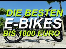 die besten e bikes bis unter 1000 ncm moscow