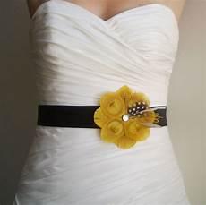 peacock bridal or bridesmaids sash in golden yellow and grey bridesmaid bridal bridal sash