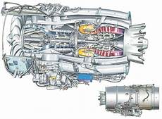 Pratt Canada Pw500 Engine Cutaway Drawing In