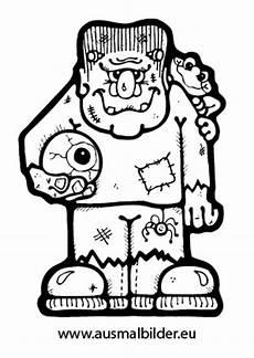 Malvorlagen Grusel Bilder Ausmalbilder Gruseliger Frankenstein Malvorlagen