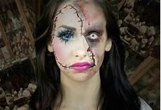 Make Up Halbes Gesicht - idee f 252 r frauen ein halbes gesicht