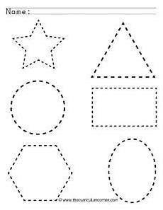shapes worksheets free printable 1021 tracing shapes worksheet for pre k lesson planet