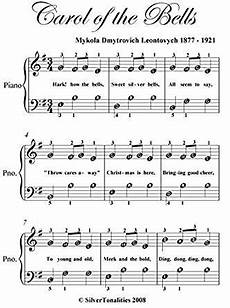 carol of the bells easy note piano sheet music kindle edition by christmas carol