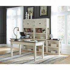 ashley furniture home office desks ashley signature design bolanburg two tone home office